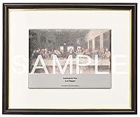 大塚国際美術館 陶板 額装品C 「最後の晩餐《修復前》」 レオナルド・ダ・ヴィンチ 絵 プレート