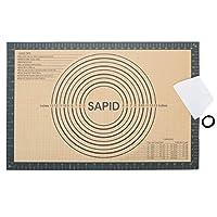 """シリコンペストリーマット 16""""×24"""" レッド SAPID184"""