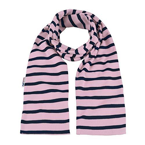modAS Bretonischer Schal gestreift oder einfarbig 13x120 cm Nr. 2547 Ringel Ringelschal (45 rosa/blau)