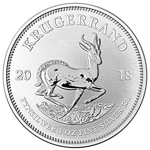 2018 1 Troy Unze .999 Silber Proof Krugerrand