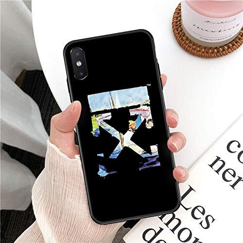 XMCJ Funda para iPhone 11 Pro XS MAX 8 7 6 6S Plus X 5 5S SE XR (color: A11, material: para iPhone 5 5S SE)