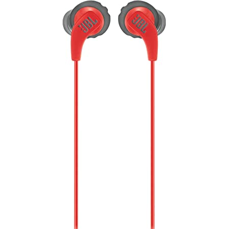 JBL Endurance RUN - Wired Sport In-Ear Headphones - Red
