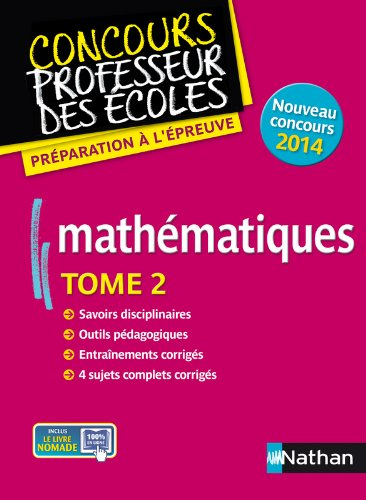 MATHS T02 (CRPE) 2013