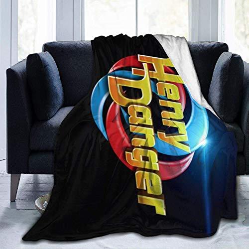 Sunwd Henry Danger Ultra Soft Flanell-Decke, Sofa, Bett, leicht, warm, 152 x 127 cm