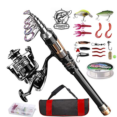 ShinePick Fishing Rod Kit