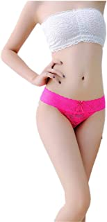 Ausexy Women Sexy Lace Underwear Underpants Lingerie Hollow Knickers G-String Thongs Panties Briefs