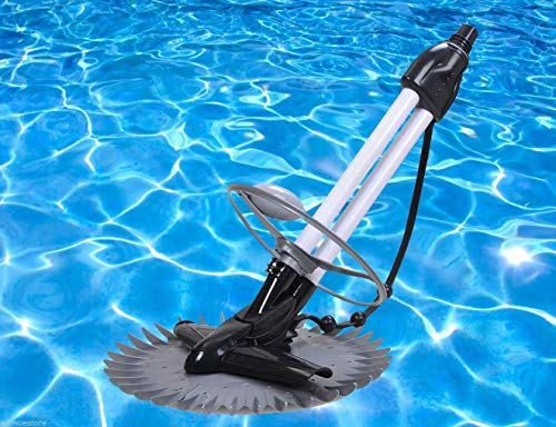 Buy 9TRADING Swimming Pool Floor Wall Cleaner Suction Clean Stingray 4 Inground Above Ground