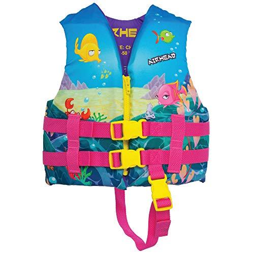 Airhead Infant's Treasure Life Vest, Pink