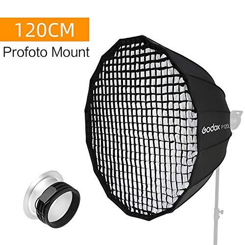 Godox P120L - Rejilla de luz para Estudio fotográfico (120 cm)
