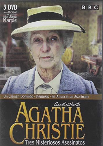 Agatha Christie. Tres misteriosos asesinatos [DVD]