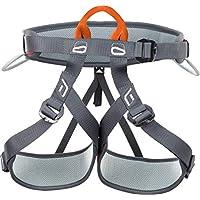 Climbing Technology Explorer, Arnés, Color Negro/Naranja, Talla unicaca