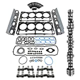 5.7 HEMI Engine Valve MDS Lifters Camshaft w/Gasket Set Replacement for 2009-2019 Ram 1500 53022263AF 53021726AE 53021726AD 53021720AB Koomaha