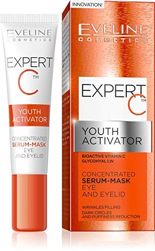 Eveline Cosmetics Expert C Crème éclaircissante pour les yeux anti-rides avec Vitamine C 15 ml