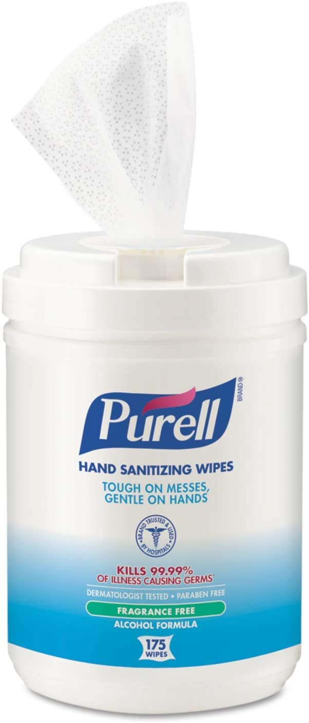 Purell Sanitizing Wipes Fragrance Count Credence Canister Free Long Beach Mall 175