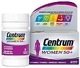 Centrum Women 50+ – Multi Vitamines et Minéraux – Complément alimentaire pour femmes de 50 ans et plus – Flacon de vitamines / 30 comprimés, 49g