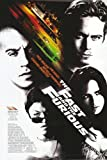 THE FAST AND THE FURIOUS MOVIE POSTER 1 Sided ORIGINAL 27x40 VIN DIESEL
