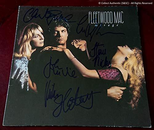 Coleccione Auténtico Fleetwood Mac – Original Firmado – 'Mirage' Vinilo LP – COA #FM58818