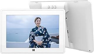 KODAK WiFiデジタルフォトフレーム 10インチ 超鮮明画質 タッチパネル 思い出の写真/動画が蘇る リアルタイムに共有 タッチパネル SDカード/USBメモリに対応 プレゼントに適用