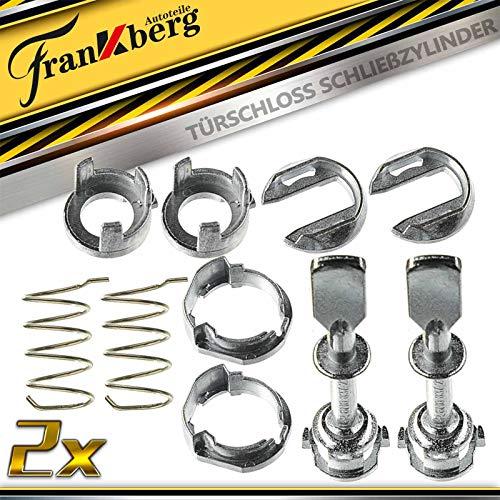 2x Schliesszylinder Reparatursatz Vorne Links oder Rechts für Polo 6N1 6N2 Ibiza II 6K1 1993-2002 6N0837223A
