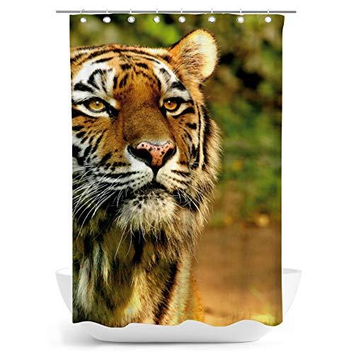 fotobar!style Duschvorhang 140 x 200 cm EIN Motiv aus dem Kalender Tiger - die leisen Jäger des Dschungels