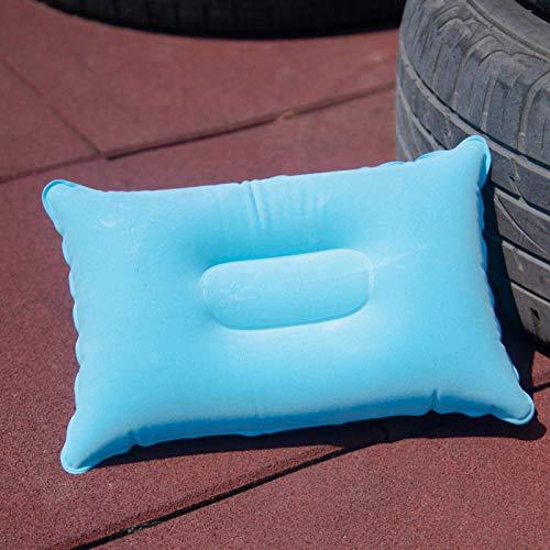 N\C Portátil viaje inflable almohada al aire libre esteras camping almohada multifuncional camping al aire libre camping Mat suave para senderismo dormir equipo