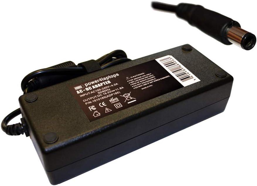 Power4Laptops Adaptador Fuente de alimentación portátil Cargador Compatible con MSI Gaming GE73 8RF-076CA
