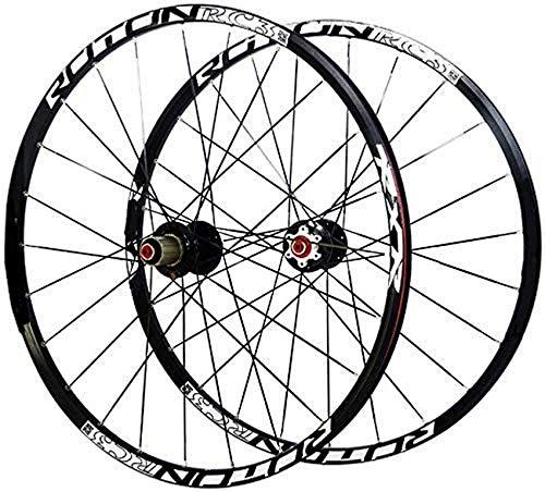 Juego de ruedas de bicicleta, ultraligero de 26 pulgadas, fibra de carbono MTB, bicicleta de montaña, juego de ruedas de bicicleta, llanta de aleación, ruedas de cubo de carbono, juego de ruedas, lla
