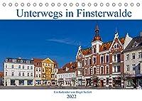 Unterwegs in Finsterwalde (Tischkalender 2022 DIN A5 quer): Fotografischer Spaziergang durch Finsterwalde (Monatskalender, 14 Seiten )
