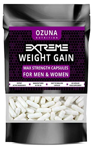 ANABOLIC Weight GAIN Tablets - Quick Muscle Mass Pills Growth Potent Capsules