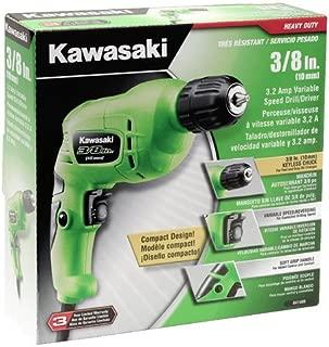 Kawasaki 841409 3/8-Inch Keyless 3.2-Amp VSR Drill