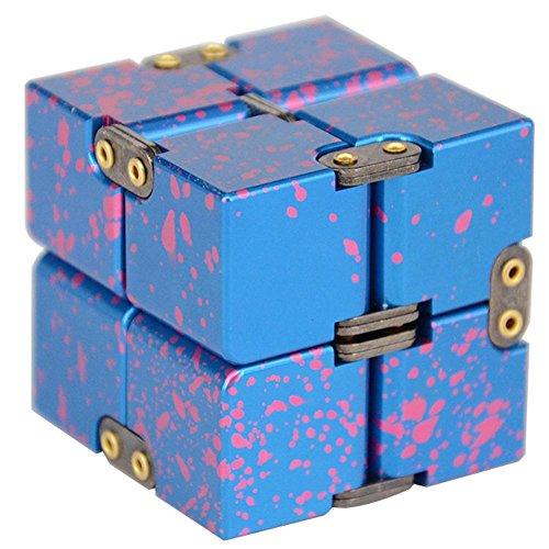 Fidget Cubo allevia lo stress e ANSIA attenzione FUNNY zindoo Fidget Toys tutti un