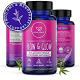 Flow and Glow 5-in-1 Premium Natural Hormone...