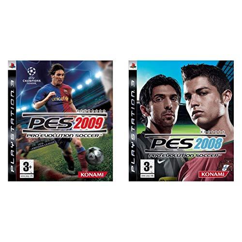Konami Pro Evolution Soccer 2009 & Pro Evolution Soccer 2008