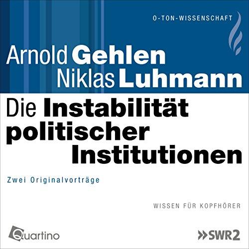 Die Instabilität politischer Institutionen Titelbild