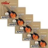 Best Mandolin Strings - 5 Sets Alice Stainless Steel Coated Copper Alloy Review