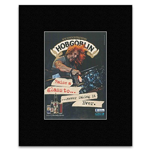 Stick It On Your Wall Hobgoblin – Wychwood Brewery Mini-Poster, 28,5 x 21 cm