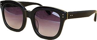 女性 サングラス オーバーサイズ クール アセテート繊維フレーム 偏光 TACレンズ 紫外線保護 運転 ビーチ アウトドアサングラス, ファッションサングラス