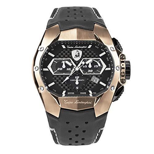 Tonino Lamborghini GT1 Chronograph Watch Rose Gold