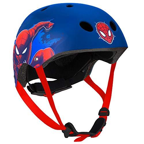 Disney Jungen Spiderman Sporthelm, Mehrfarbig, M