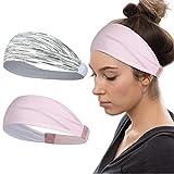 AXBXCX Sports Headbands Breathable for Men Women Non Silp Sweatbands Moisture Wicking Quick