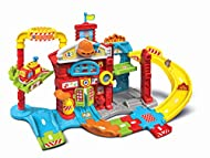 Includes toot-toot drivers fire engine with moveable ladder, 2 sing-along songs and 6 melodies Manipulative feature include spinning fire pole, slide with flip-down flames, open and close windows, spinning disk, launcher, pop-up fire, lift, alarm and...