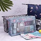 N / A Bolsa de Lavado de Viaje Femenina Impermeable Simple portátil multifunción de Gran Capacidad de Viaje de Negocios pequeña Bolsa de Almacenamiento de cosméticos 26x19x8CM