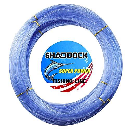 Monofilament Fishing Line 547yds 13 lb.-396 lb. Nylon Mono Fishing Lines - Super Strong Monofilament Fishing Leader Line Speargun Line for Saltwater/Freshwater (Blue, 0.4mm/23.2lb)