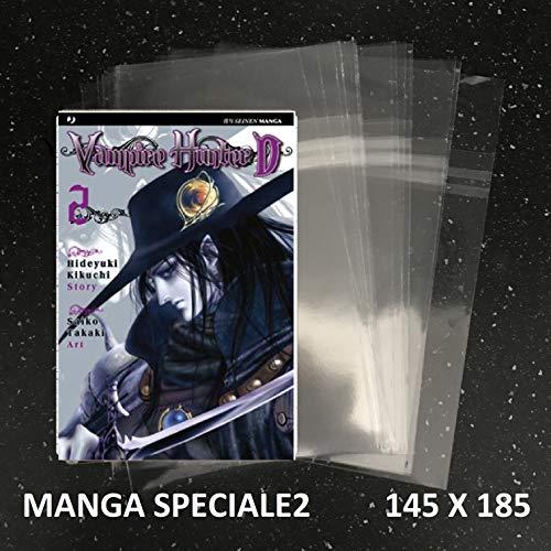 100 Buste per fumetti formato MANGA SPECIALE 2 - W.R. Buste