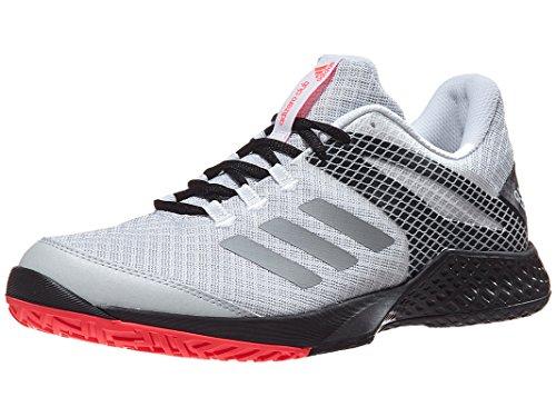 adidas Adizero Club 2 Shoe - Unisex Tennis 4.5 White/Matte Silver/Black