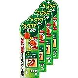 【まとめ買い】ブレスケア舌クリン 舌専用ブラシ 口臭の原因となる舌の汚れ除去 W機能(取り除きヘラ&かき出しブラシ) ふつう 1本×4個