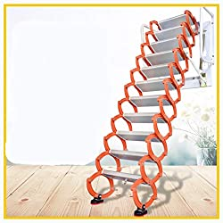 Z6 W4-26-2 Aluminum Alloy Household Retractable Ladder For Loft