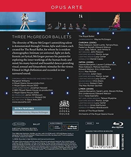 McGregor: Triple Bill (Chroma/ Infra/ Limen) [Blu-ray] [2011] [Region Free]