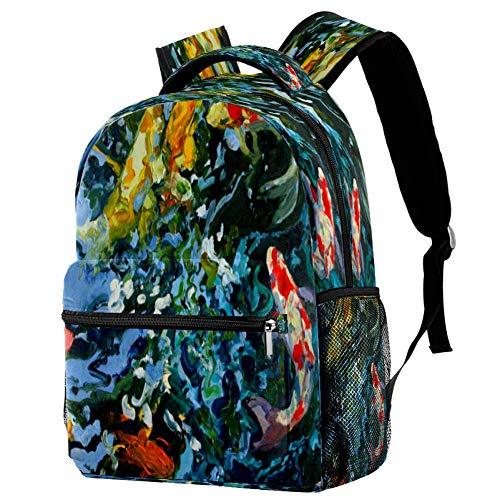 Mochila colorida del patrón de Glitch Mochila de la escuela del libro del bolso casual Daypack para el viaje, estampado 5, Talla única, Mochila de a diario