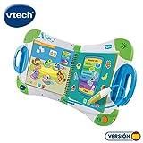 VTech - MagiBook, Enseña a aprender, ¿Qué quieres saber hoy? vocabulario, mates, ciencias, horas de entretenimiento, libros interactivos, color verde (80-602122)